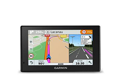 Garmin Drive 5 Plus MT-S - Navegador GPS para Coche, 5 Pulgadas, mapas de Europa 46 países, mapas de mapas, tráfico, Zonas de Peligro para la Vida, Wi-Fi Integrado