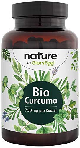 Bio Curcuma (Kurkuma) - 240 Kapseln - 4602mg Bio Curcuma (7,9% Curcumin) + Schwarzer Pfeffer je Tagesdosis - 335mg Curcumin + 12mg Piperin - Laborgeprüft ohne Zusätze hergestellt in Deutschland