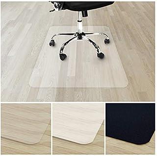 Tapis Protège-sol Transparent casa pura® | Tapis Chaise de Bureau Vinyle 100% Recyclé | Protection Sol Dur, Parquet, Lino...