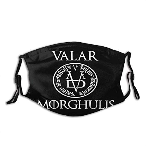 Mundschutz Valar Morgulis All Men Must Die Valyrian Game-of-Thrones Mouth Cover Face Cover Headscarf Outdoor Seamless Reusable Mouth Scarf