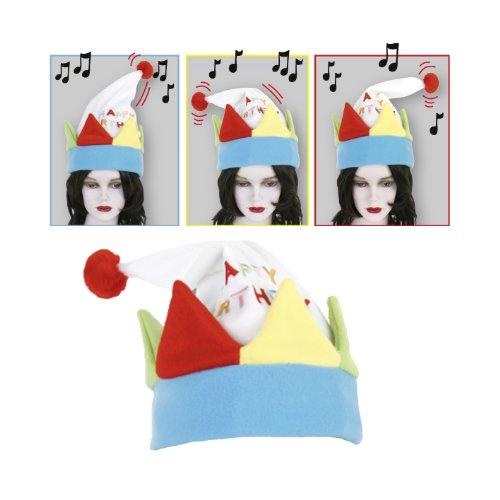 Geburtstags-Mütze mit Sound & Bewegung HAPPY BIRTHDAY