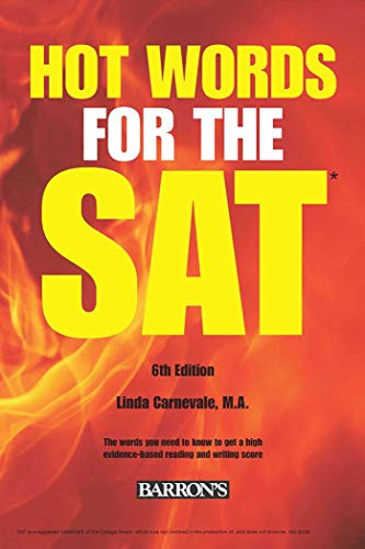 Hot Words for the SAT ED, 6th Edition (Barrons Hot Words for the SAT)