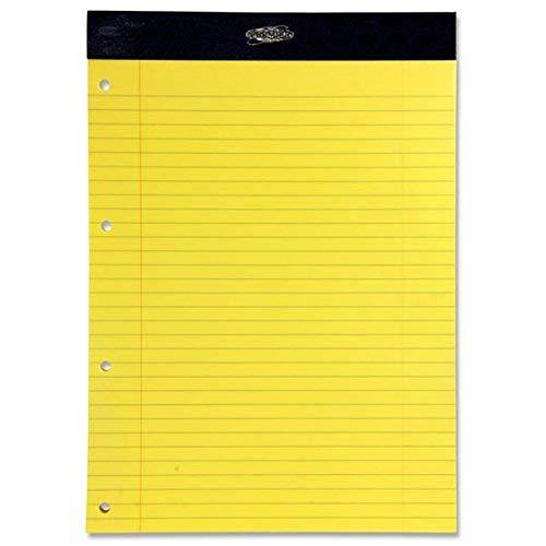 Premier EXECUTIVE gelb Block Polster 60g/m² 50Sheets (4 Loch Gestanzt) PERFORIERT (Packung mit 5 Stück)