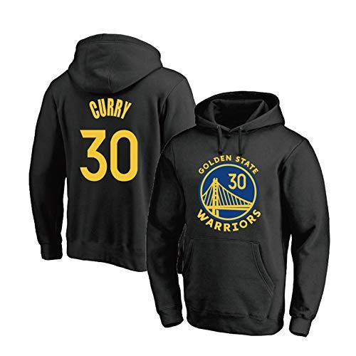 YUNAN - Sudadera con capucha para hombre, diseño de los Golden State Warriors #30 Stephen Curry