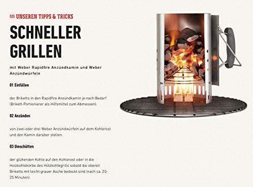 41zADVzCPIL - Weber® Anzündkamin Rapidfire