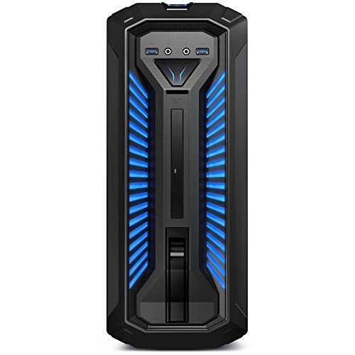 MEDION ERAZER X67072 Gaming Desktop PC (Intel Core i5-8400, 2000GB Festplatte, 256GB PCIe SSD, 16GB DDR4 RAM, NVIDIA GeForce GTX 1060 6GB GDDR5 VRAM, Win 10 Home)