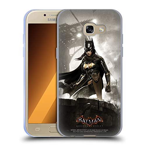 Official Batman: Arkham Knight Batgirl Characters Soft Gel Case Compatible for Samsung Galaxy A3 (2017)