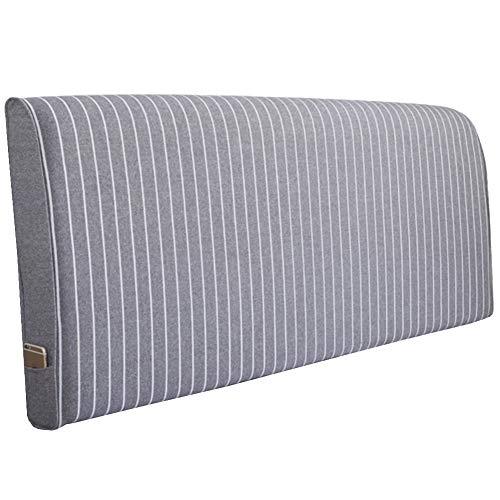 QIANCHENG-Cushion Cabeceros De Cama Cojines Pared Almohada Ropa de Cama Respaldo anticolisión Estampado Floral, 5 Colores, 7 tamaños (Color : #1, Size : 190x58x10CM)
