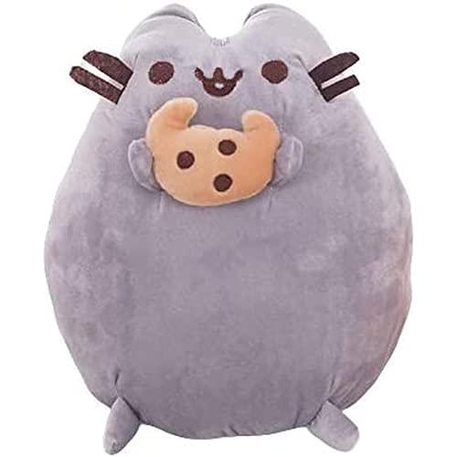 Kpcxdp 25 cm Muñeca de Juguete de Peluche de Peluche Pillow Animal Cat Doll Lindo Gato Almohada Niños Regalo de cumpleaños B