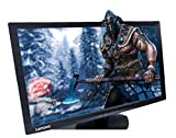 Lenovo 23.6-inch Near Edgeless Monitor with LED Backlit, TN Panel, VGA and HDMI