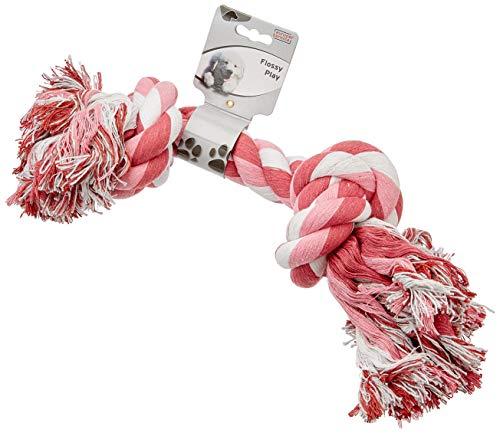 Europet Bernina 305-408766 Hundespielzeug Spieltau 50 cm mit 2 Knoten sortierte Farben