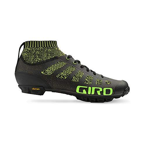 Giro Empire VR70Knit Bicicleta de Montaña Guantes Negro/Verde 2018, 45,5
