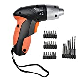 Best Cordless Power Drills - ZZ ZONEX 4.8V Cordless Rechargeable Handy Drill Screwdriver Review