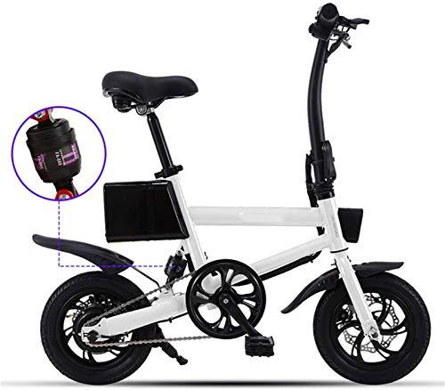 Bicicleta eléctrica de nieve, Bicicletas eléctricas para la aleación de adultos Ebikes Bicicletas All Terreno 12 '36V 240W 7.8Ah Batería de iones de litio de litio 25km / h 3 Modos de equitación MAX C