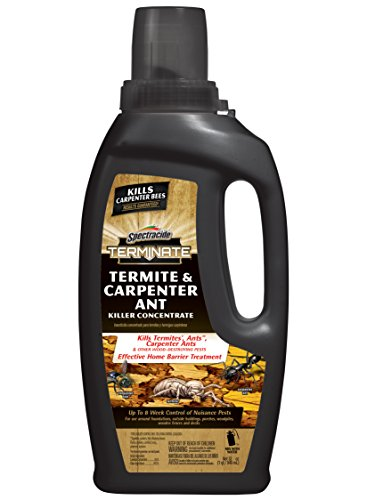 Spectracide Terminate HG-96410 Termite & Carpenter Ant Killer Concentrate, 32-fl oz, 32 oz, clear