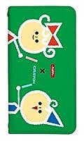 [iPhone11] スマホケース ベルトなし ケース デザイン手帳 アイフォンイレブン 8152-C. デザインC かわいい おしゃれ かっこいい 人気 柄 ケータイケース サクラクレパス クレヨン 柄 ベルトなし