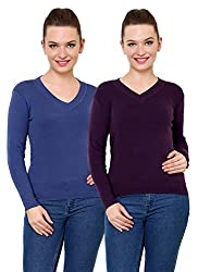 Renka knitted pullover sweater for women (Pack of 2)