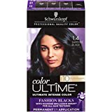 Schwarzkopf Color Ultime Hair Color Cream, 1.4 Sapphire Black (Packaging May Vary)