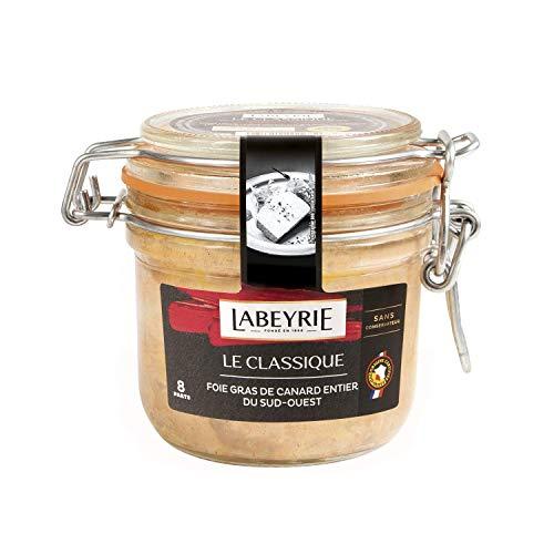 LABEYRIE - Foie-Gras de Canard Entier IGP Sud-Ouest Classique 8 parts - 270g