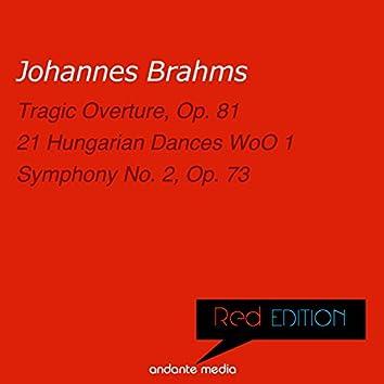 Red Edition - Brahms: 21 Hungarian Dances WoO 1 & Symphony No. 2, Op. 73