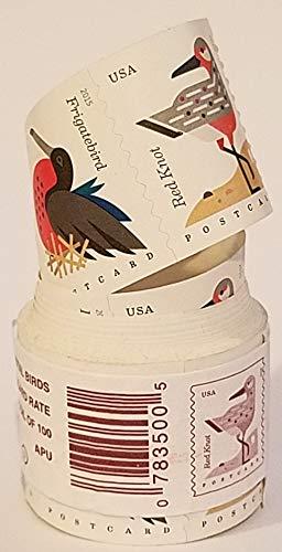 USPS Coastal Birds Postcard Stamps Roll of 100