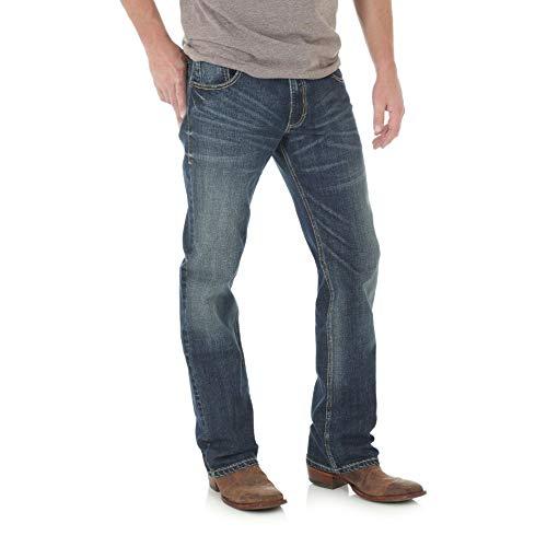 """""""Wrangler Mens Retro Slim Fit Boot Cut Jean"""""""