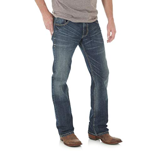 Wrangler Men's Retro Slim Fit Boot Cut Jean, Layton, 31W x 32L
