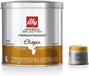Illy Illy Arabica Selection iperEspresso Capsules Ethiopia Coffee,,7112