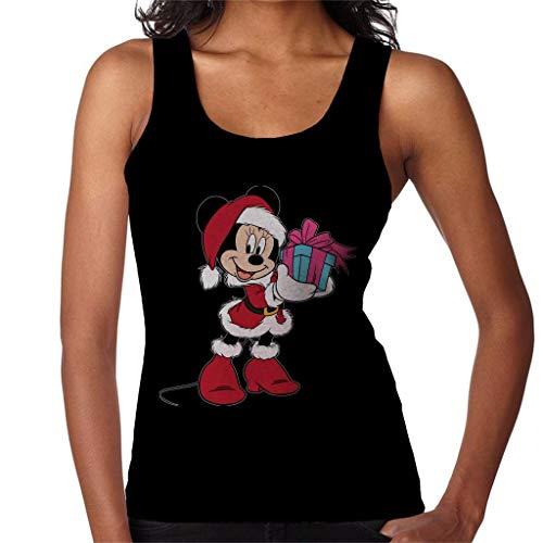 Disney Christmas Minnie Mouse Festive - Disfraz de mujer negro XXL