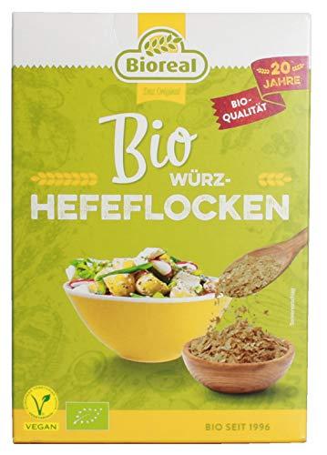 Vollkorn Hefeflocken von Bioreal vegan 100g - Bio