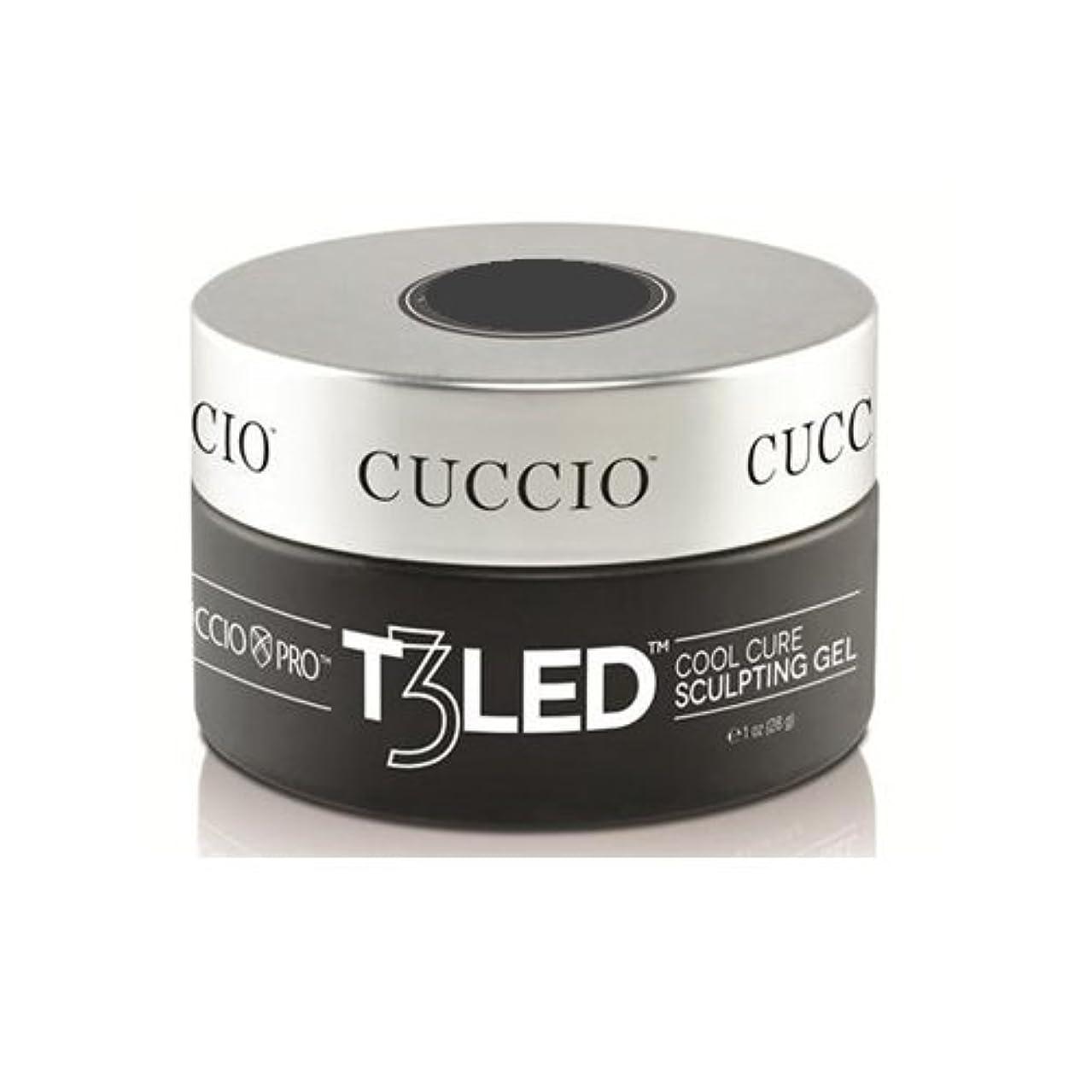 比類なき批判市の花Cuccio Pro - T3 LED/UV Controlled Leveling Gel - Opaque Brazilian Blush - 2oz / 56g