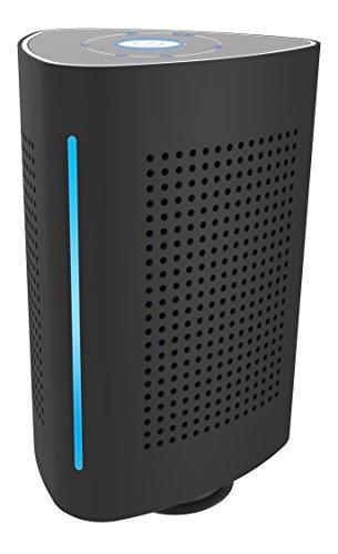 BSV-1136-B Bluetooth Lautsprecher 360° Sound mit BT 4.0 und NFC für Resonanzkörper bis zu 3h Laufzeit Schwarz 36W