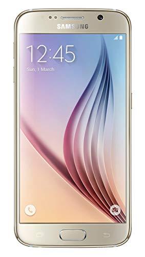 Samsung Galaxy S6 G920a 32GB Unlocked GSM 4G LTE Octa-Core Smartphone w/ 16MP Camera - Gold (Renewed)