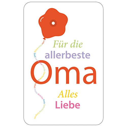 Susy Card Glückwunschkarte, Family And Friends, Oma, 1 Stück in Folie