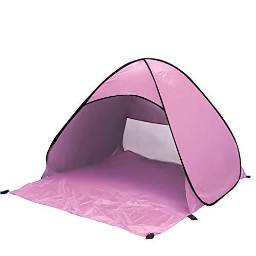 WIVION Beach Tent,Quick Automatic Instant Beach Camping Tent Waterproof Beach Shelter UV Lightweight Fishing Tentsfor Garden, Camping, Beach, Picnic,B