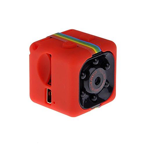 MM Camera de Vision Nocturne 1080p HD Camera de Video Camera D'enregistrement Rouge