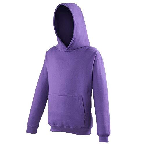 Awdis - Sudadera con capucha para niños/niñas Unisex - Ropa para deporte/colegio/entrenamiento/activiades extraescolares