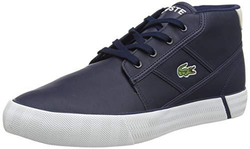 Lacoste Herren GRIPSHOT Chukka 01201 CMA Sneaker, Blau NVY Off Wht, 43 EU