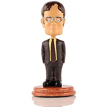 Madanar Dwight Schrute Bobblehead Collectible Desk Decor from The Office TV Show Merchandise