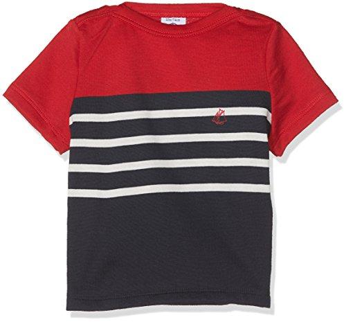 Petit Bateau Malou T-Shirt, Multicolore (Smoking/Multico 77), Nouveau né(6 Mois) Bébé garçon