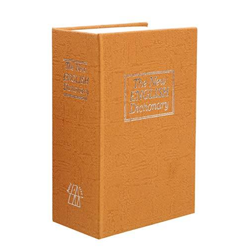 MHBY Hucha, Libro de Diccionario Creativo Caja de Dinero con Cerradura escondida Hucha Secreta Caja de Seguridad Secreta Caja de Almacenamiento de Monedas Caja de Almacenamiento Caja de Efectivo