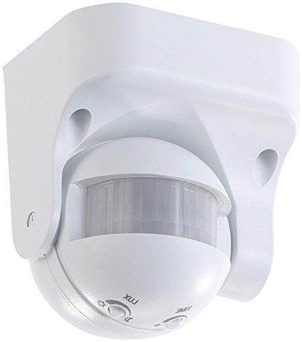 revolt Bewegungsmelder außen: Vertikal schwenkbarer 180°-PIR-Bewegungsmelder, 230 V, IP44 (PIR Bewegungsmelder aussen)