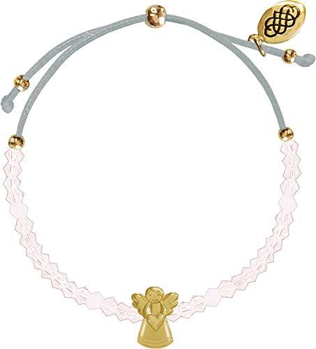 Preisvergleich Produktbild Armband - Glasperlen-Armband Schutzengel