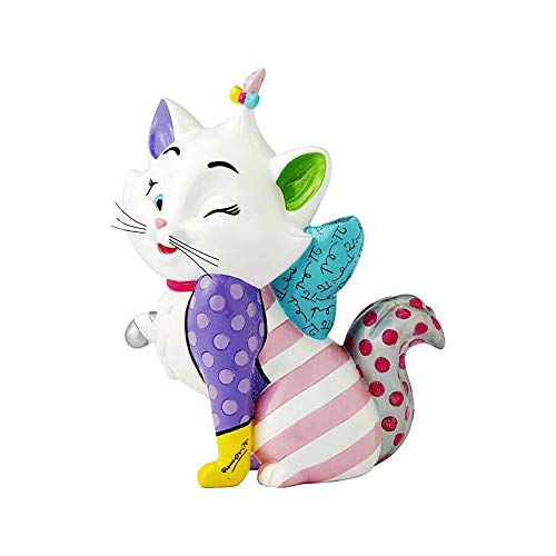 Disney Britto Collection Britto Marie Figurine, Resin, Multicolour, 9 x 15 x 19 cm