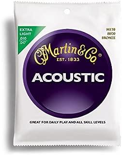 Martin アコースティックギター弦 ACOUSTIC(80/20 Bronze) M-170 Extra Light .010-.047