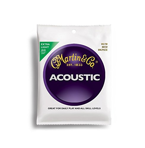 Martin M170 Extra Light Acoustic Guitar Strings