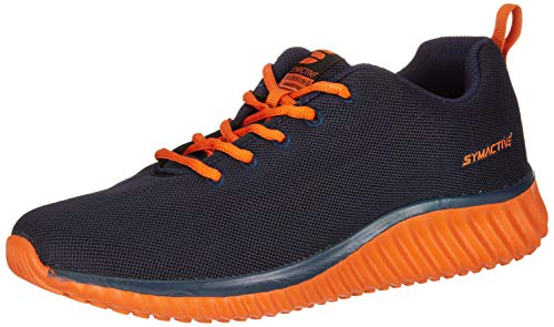 Amazon Brand - Symactive Men's Navy Running Shoe-8 UK (SYM-SS-023B)