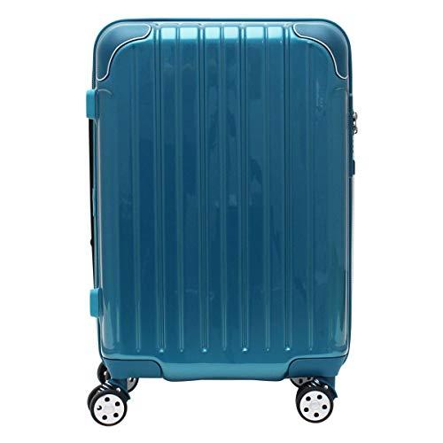 [シフレ] スーツケース 4輪 機内持ち込み 42L 48.5cm 3.1kg スカイラボ SKY2145-48 拡張 LCC対応 メタリックグリーン