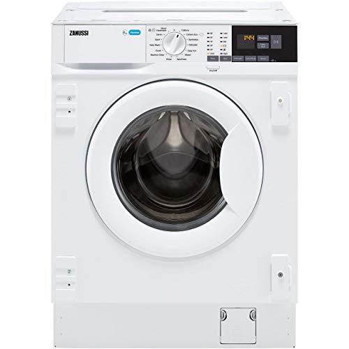 Zanussi Z814W85BI Integrated 8Kg Washing Machine with 1400 rpm - A+++ Rated
