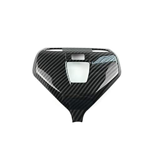 Piezas Automóviles Estilo Coche Cubierta Luz Lectura Delantera Decoración Pegatina Embellecedora para BMW X3 G01 5 Series G30 G38 2018-2020 Accesorios De Lámpara De Techo Decoración (Color : Negro)